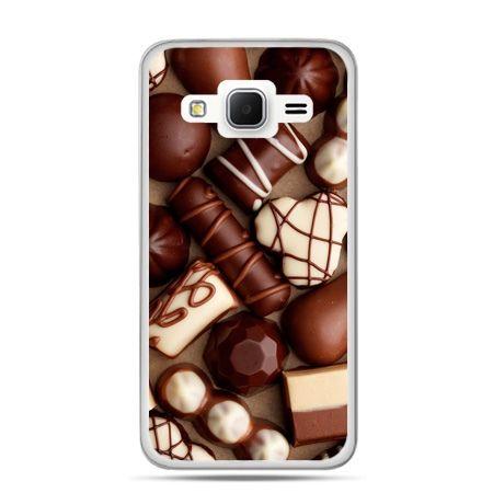 Galaxy Grand Prime etui czekoladki