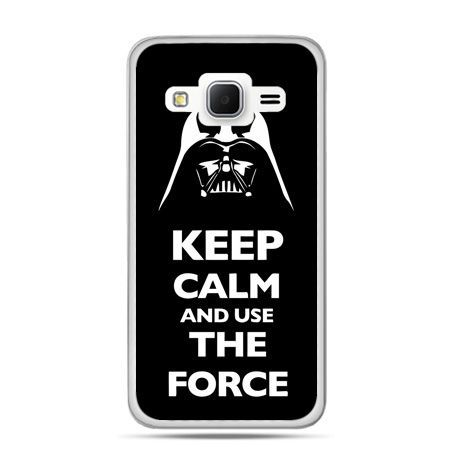 Galaxy Grand Prime etui Keep calm and use the force