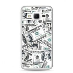 Galaxy Grand Prime etui dolary banknoty