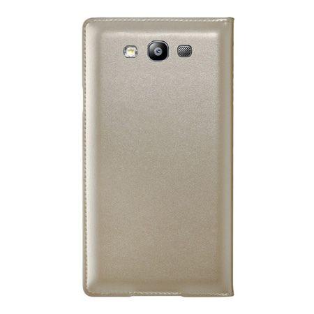 Galaxy S3 / Neo / LTE etui Flip S View złoty z klapką. PROMOCJA!!!