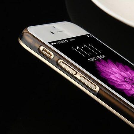 iPhone 6 srebrne plecki aluminiowe efekt cd