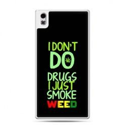 HTC Desire 816 etui I don't do drugs