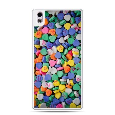 HTC Desire 816 etui slodkie serduszka