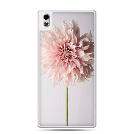 HTC Desire 816 etui kwiat dali różowy