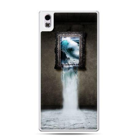 HTC Desire 816 etui  obraz wodospad