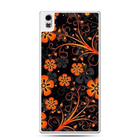 HTC Desire 816 etui nocne kwiaty