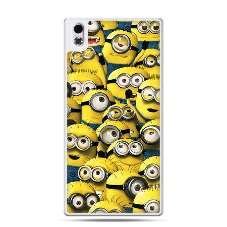 HTC Desire 816 etui Minionki grupa