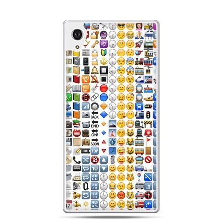 Etui Xperia Z4 emotikony