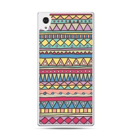 Etui Xperia Z4 Azteckie wzory