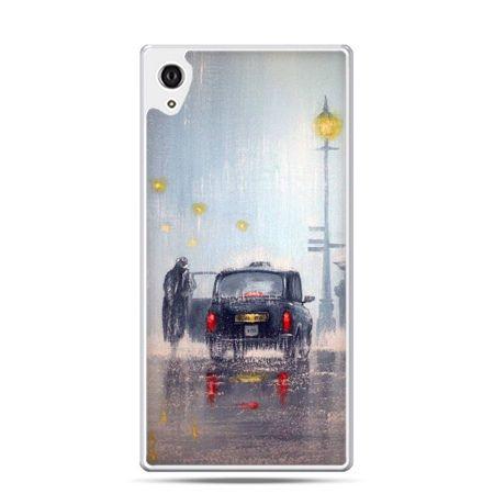 Etui Xperia Z4 Londyn w deszczu