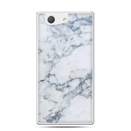 Xperia Z4 compact etui biały marmur