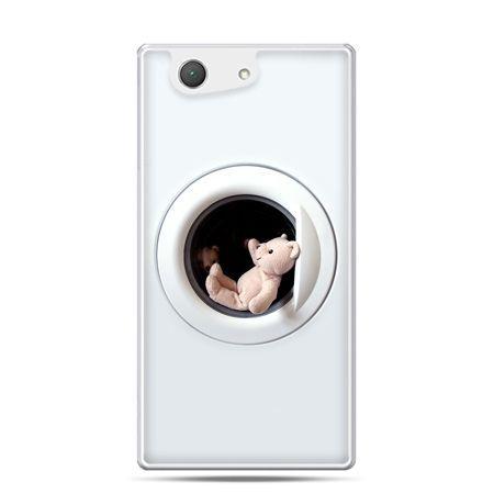 Xperia Z4 compact etui miś w pralce