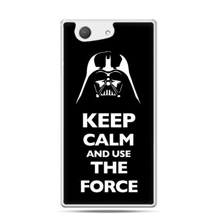 Xperia Z4 compact etui Keep calm and use the force