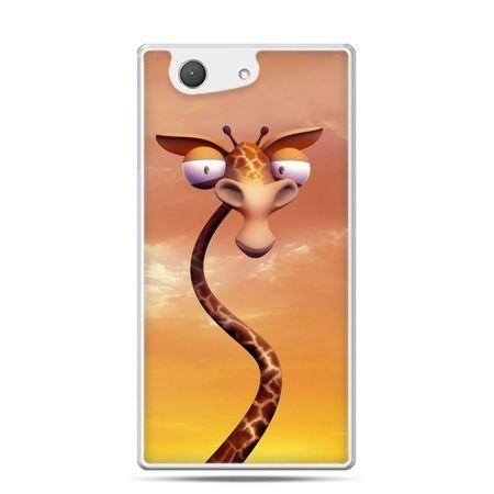 Xperia Z4 compact etui śmieszna żyrafa