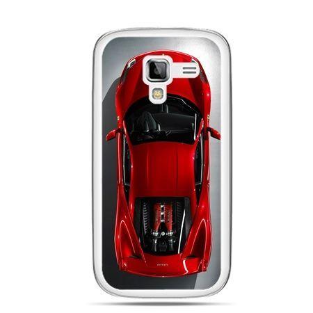 Galaxy Ace 2 etui czerwone Ferrari
