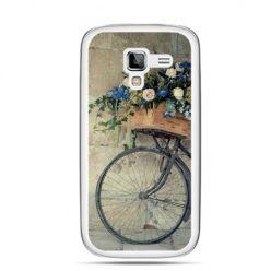 Galaxy Ace 2 etui rower z kwiatami