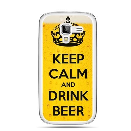 Galaxy Ace 2 etui Keep calm and drink beer