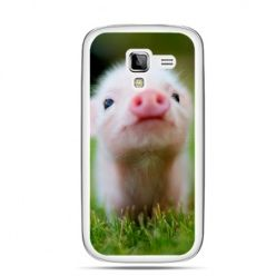 Galaxy Ace 2 etui świnka