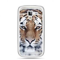 Galaxy Ace 2 etui śnieżny tygrys