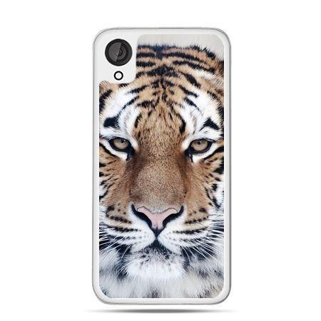Etui dla Desire 820 śnieżny tygrys