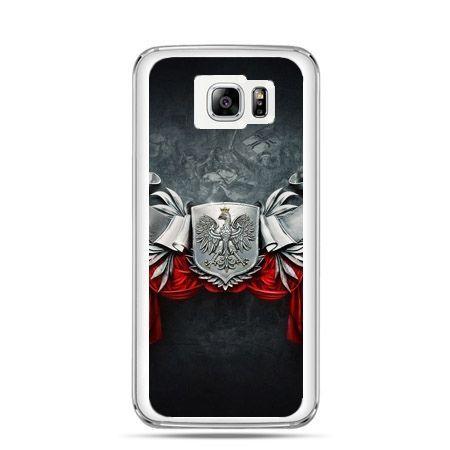 Etui na telefon Galaxy Note 5 patriotyczne - stalowe godło