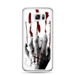 Galaxy Note 5 etui zakrwawiona ręka