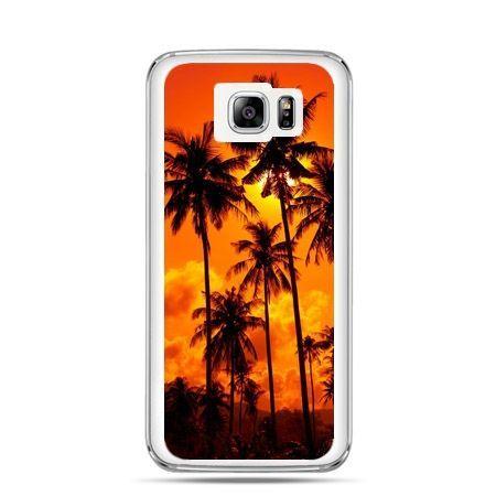 Galaxy Note 5 etui palmy nocą