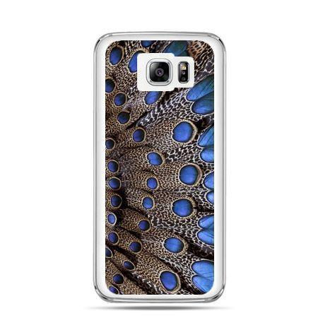 Galaxy Note 5 etui niebieskie pióra