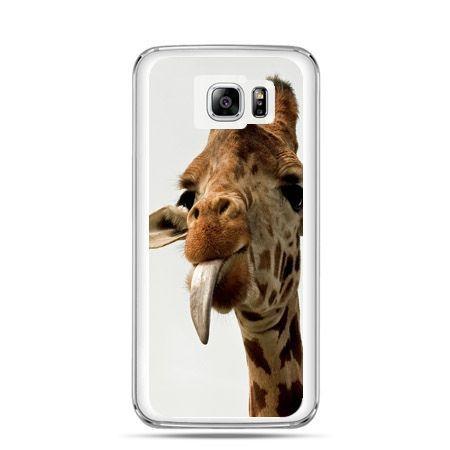 Galaxy Note 5 etui żyrafa z językiem