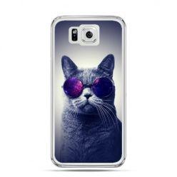 Galaxy Alpha etui kot hipster w okularach