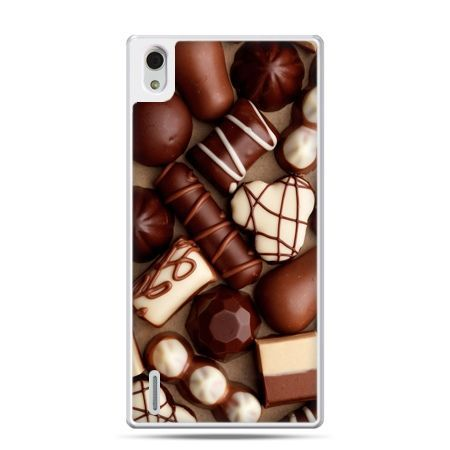 Huawei P7 etui czekoladki