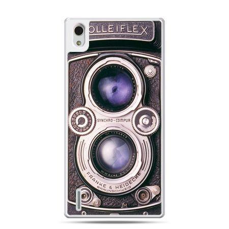 Huawei P7 etui aparat Rolleiflex