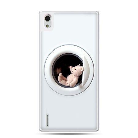 Huawei P7 etui miś w pralce