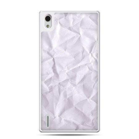 Huawei P7 etui pomięty papier