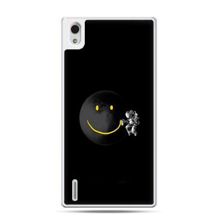 Huawei P7 etui uśmiechnięta planeta