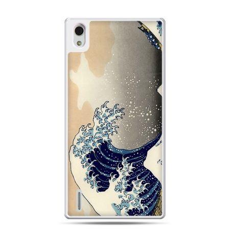 Huawei P7 etui Fala Kanagawa