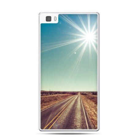 Huawei P8 etui słoneczna autostrada