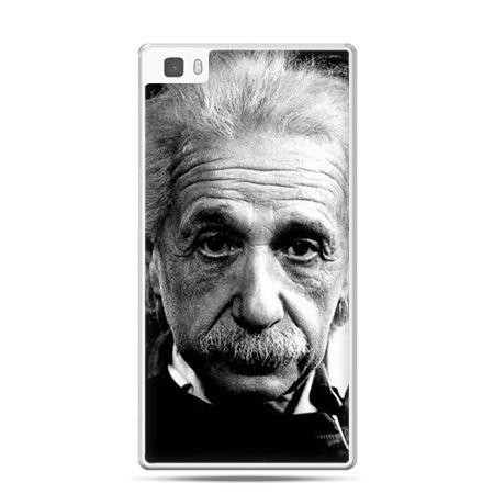Huawei P8 etui Albert Einstein
