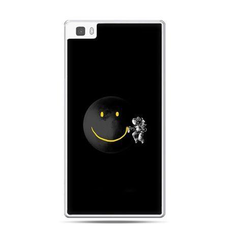 Huawei P8 etui uśmiechnięta planeta