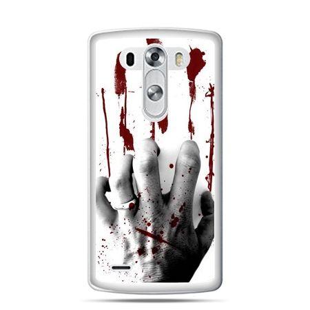 LG G4 etui zakrwawiona ręka