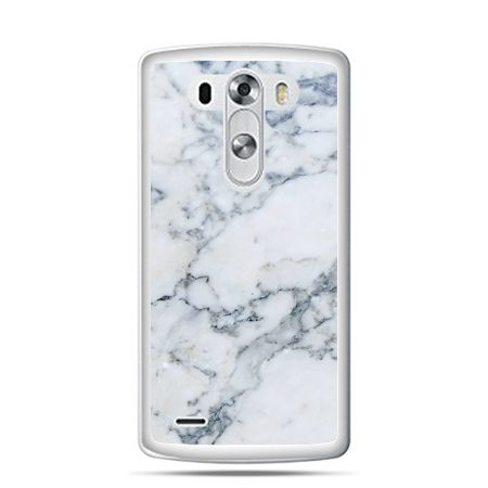 LG G4 etui biały marmur