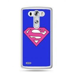 LG G4 etui Supergirl