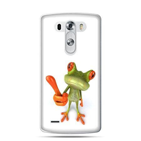 LG G4 etui śmiesznaq żaba