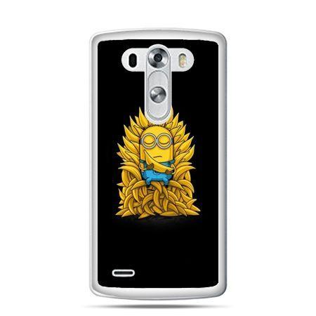 LG G4 etui Minionek na tronie ,minionki