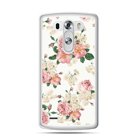 LG G4 etui polne kwiaty