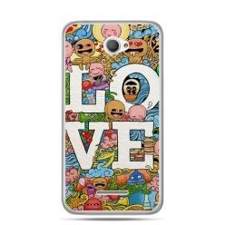 Xperia E4 etui LOVE