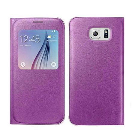 Galaxy S6 Edge Flip S View z klapką różowe.