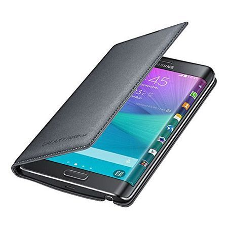 Galaxy Note Edge  etui Flip Wallet skóra czarne.