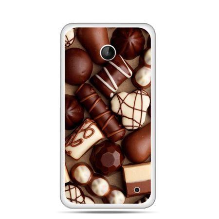 Nokia Lumia 630 etui czekoladki