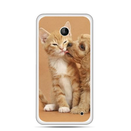 Nokia Lumia 630 etui jak pies i kot
